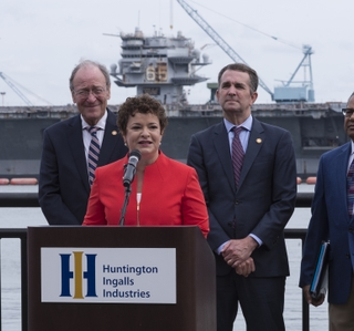 Photo Release--Huntington Ingalls Industries' Newport News Shipbuilding Partners With Commonwealth of Virginia to Expand Hiring Efforts