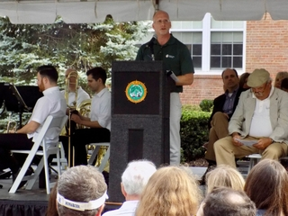 Ron Murray Speaks at Hilton Village Centennial Celebration