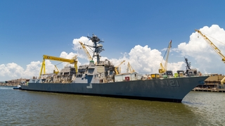 Frank E. Petersen (DDG 121) Launched
