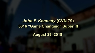 "John F. Kennedy ""Game Changing"" Superlift"