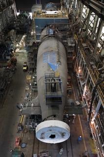 Delaware 'Pressure Hull Complete'