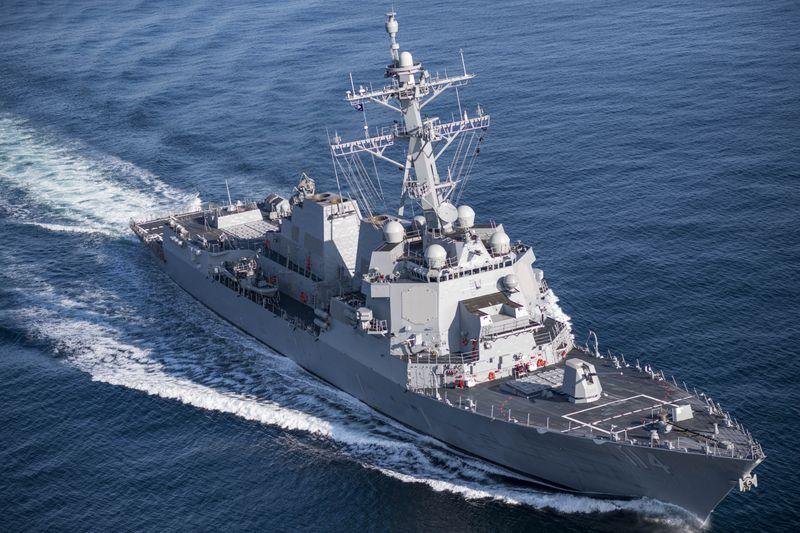 USS Ralph Johnson (DDG 114) Sea Trials