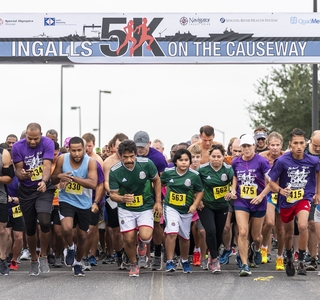 "Photo Release--Ingalls' Seventh Annual ""5K on the Causeway"" Raises $20,000 for Special Olympics"
