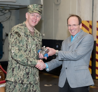 3-D Printed Part Delivered to Navy