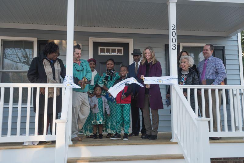 Sixteenth NNS-sponsored Habitat House Dedicated