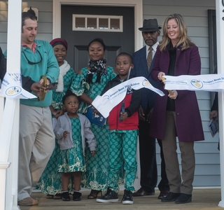 Photo Release--Newport News Shipbuilding Dedicates Habitat for Humanity Home, Breaks Ground on 17th Building Project