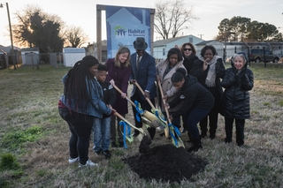 Ground broken on 17th NNS-Sponsored Habitat House