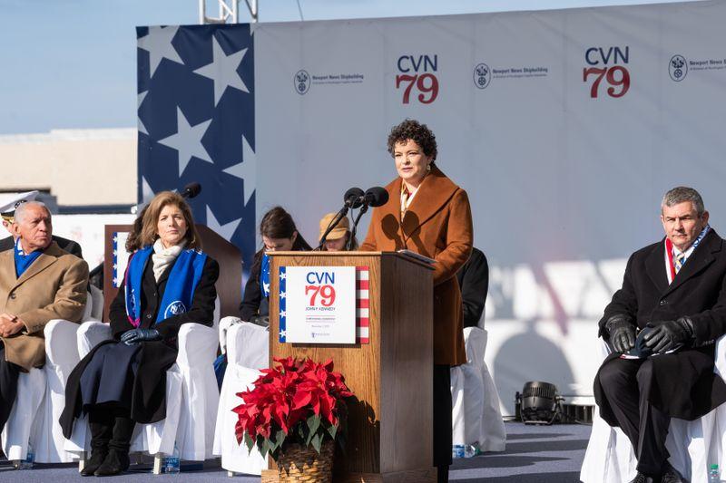 Jennifer Boykin Delivers Remarks