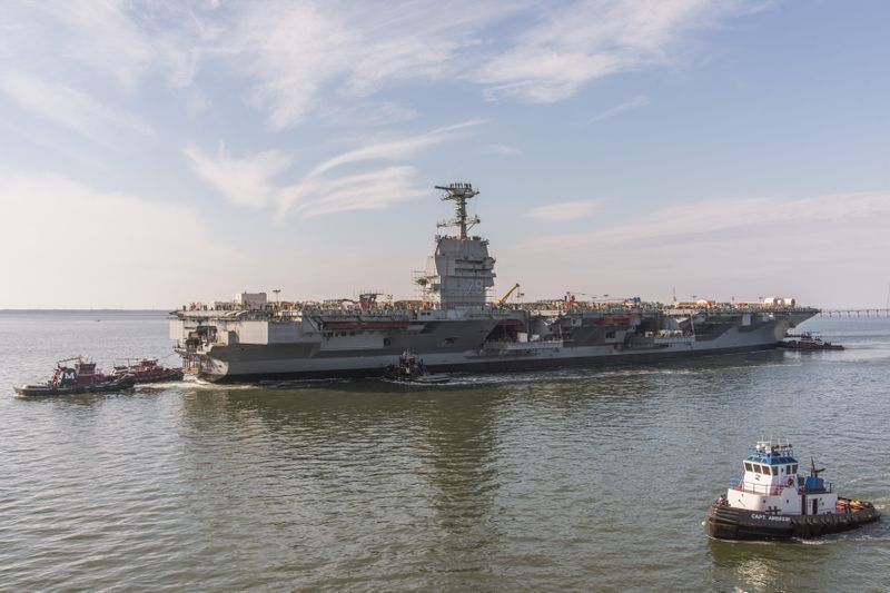 John F. Kennedy (CVN 79) is Launched