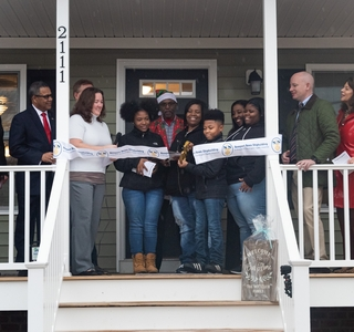 Photo Release--Huntington Ingalls Industries' Newport News Shipbuilding Dedicates 17th Habitat for Humanity Home