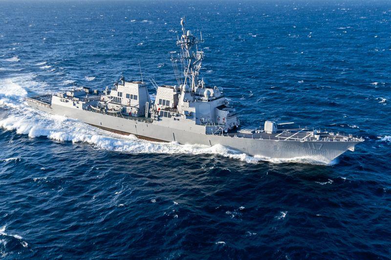 Paul Ignatius (DDG 117) at Sea
