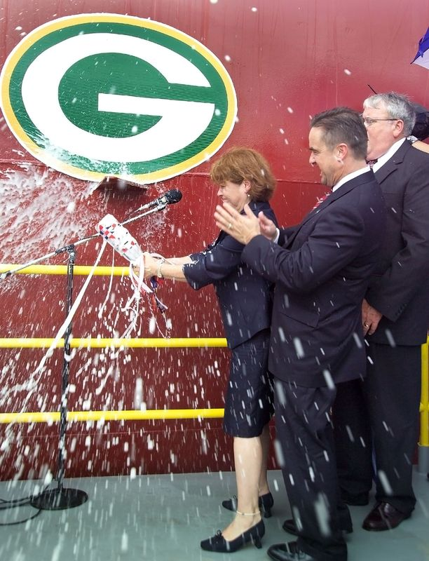 Christening of Green Bay (LPD 20)