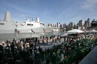 Commissioning of USS New York (LPD 21)