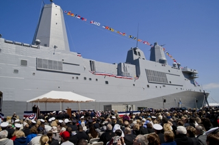 Commissioning of USS Arlington (LPD 24)