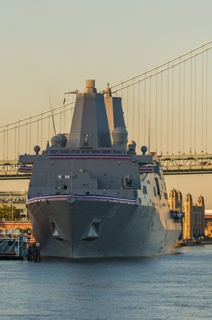 Commissioning of USS John P. Murtha (LPD 26)