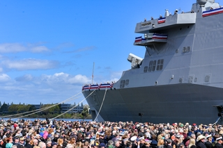 Commissioning of USS Portland (LPD 27)