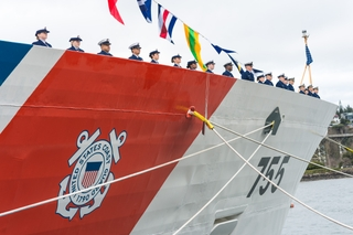 Commissioning of Munro (WMSL 755)