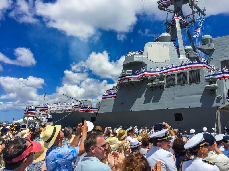 Commissioning of USS John Finn (DDG 113)