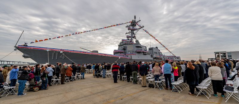 Commissioning of USS Ralph Johnson (DDG 114)
