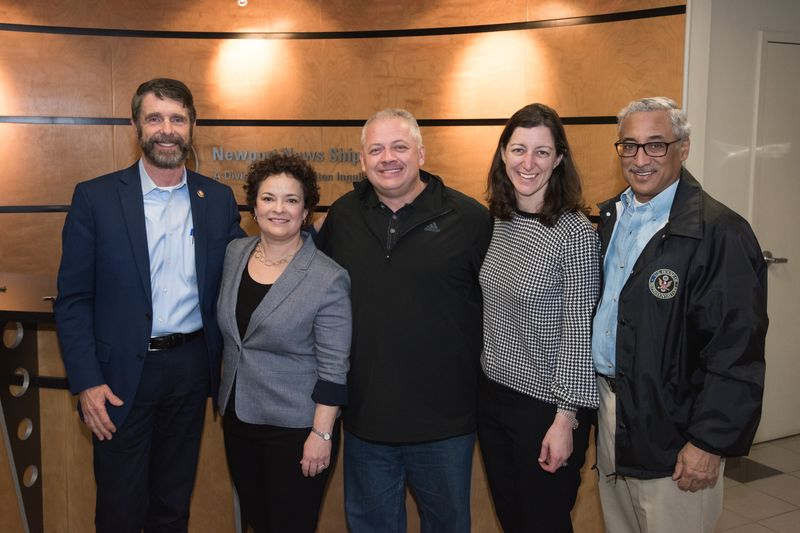 Virginia Delegation Visits Newport News Shipbuilding