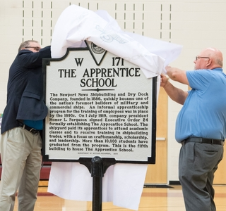Video Release--The Apprentice School at Newport News Shipbuilding Celebrates 100 Years of Craftsmanship, Scholarship and Leadership