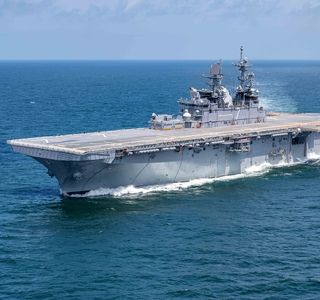 Huntington Ingalls Industries Awarded $187 Million Advance Procurement Contract for Amphibious Assault Ship LHA 9