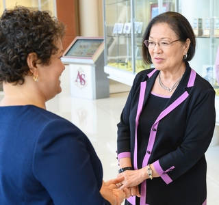 Photo Release--Huntington Ingalls Industries Hosts Sen. Mazie Hirono at Newport News Shipbuilding