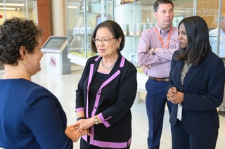 Sen. Mazie Hirono Visits Newport News Shipbuilding