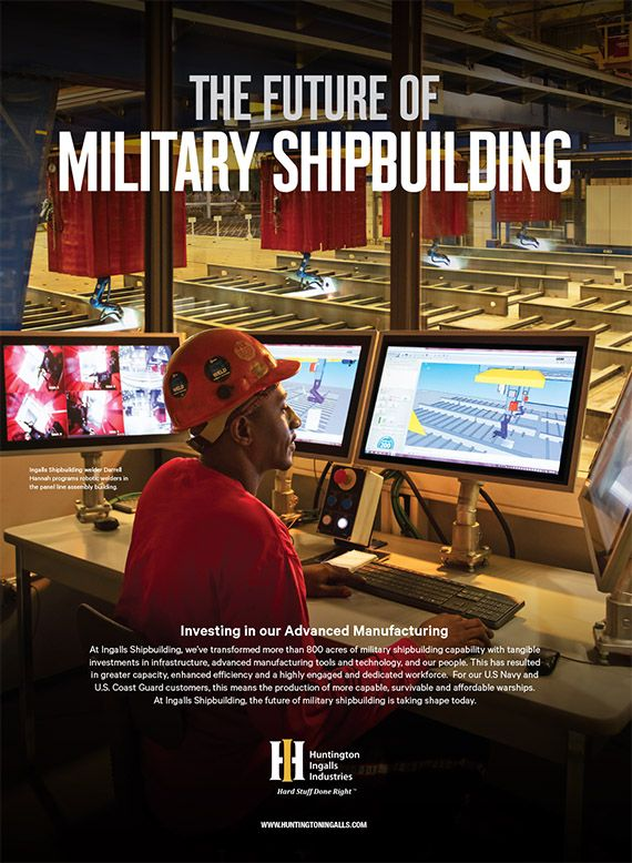 The Future of Military Shipbuilding: Investing in our Advanced Manufacturing