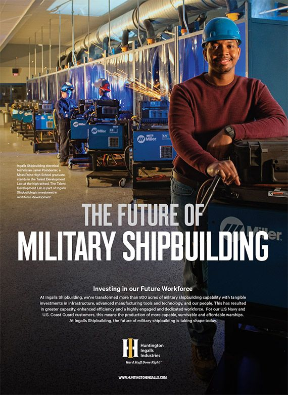 The Future of Military Shipbuilding: Investing in our Future Workforce