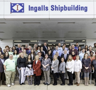 Photo Release--Huntington Ingalls Industries Awards  More Than $99,000 in STEM Grants to Gulf Coast Schools