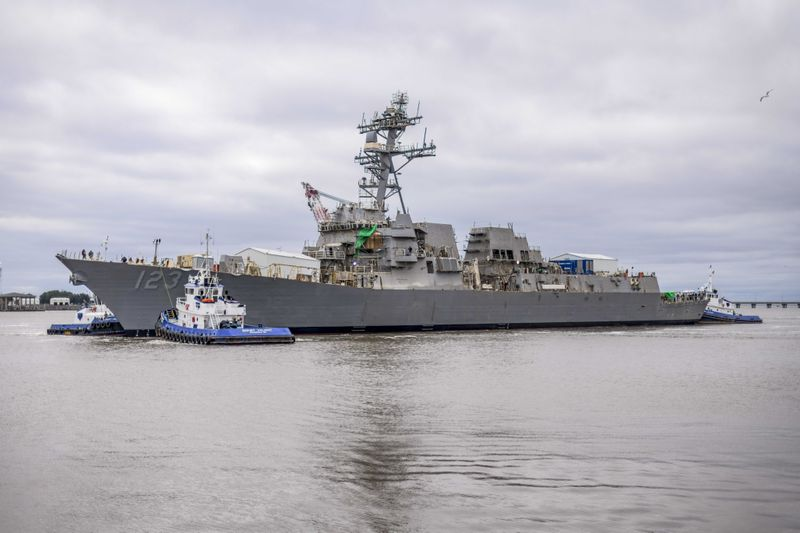 Lenah H. Sutcliffe Higbee (DDG 123) Launched