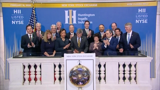 HII Leaders Ring the closing Bell