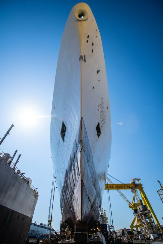 Stone Moving to Dry Dock
