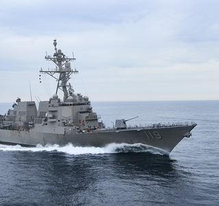 Delbert Black (DDG 119) Completes Builder's Trials