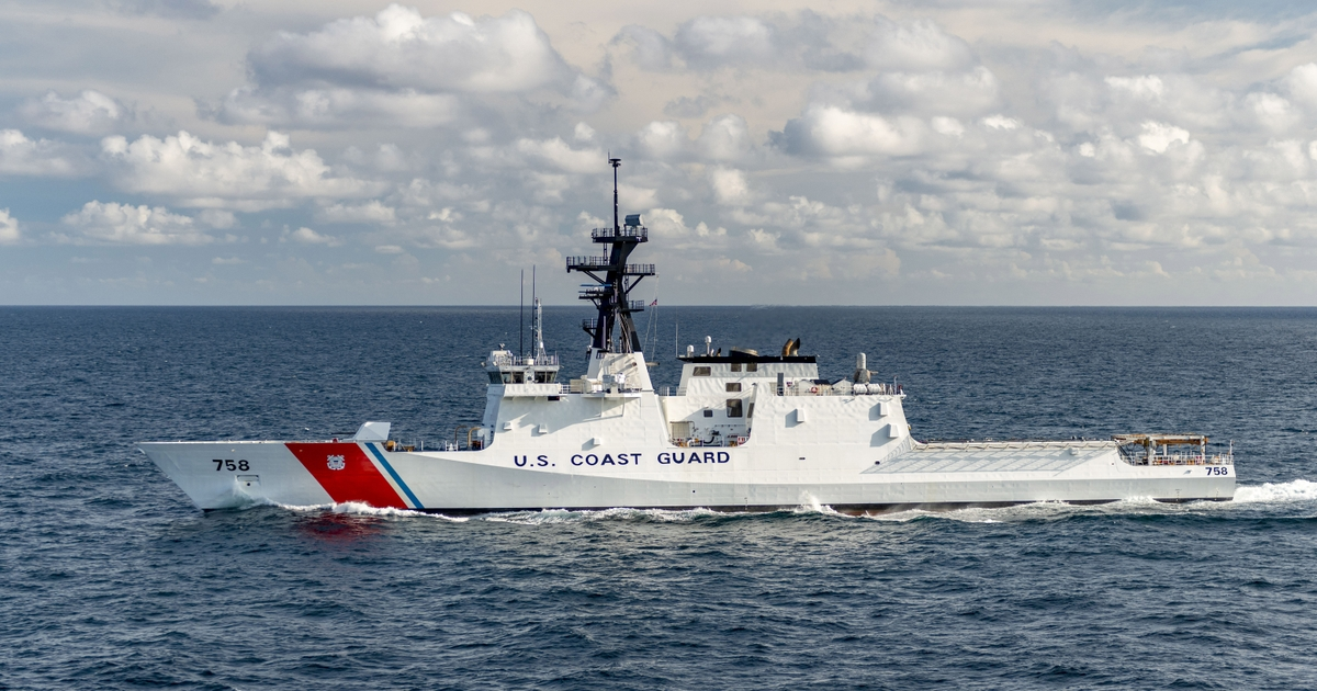Ingalls Shipbuilding Delivers National Security Cutter Stone (WMSL 758) to U.S. Coast Guard