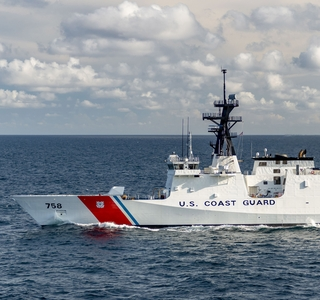 Photo Release — Huntington Ingalls Industries Delivers National Security Cutter Stone (WMSL 758) to U.S. Coast Guard