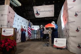 Massachusetts Sponsor's Initials Welded