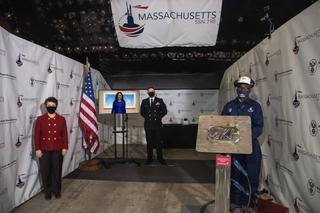 Massachusetts Keel Laying Ceremony