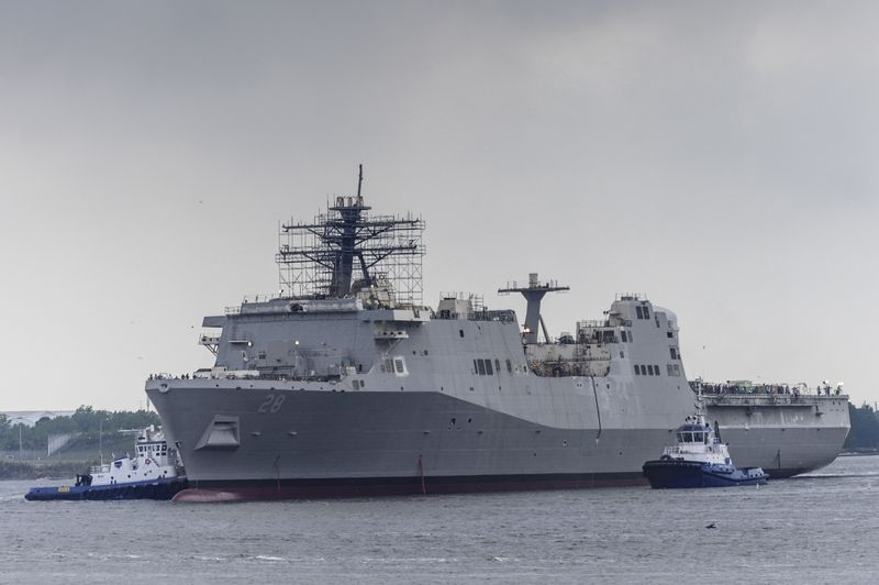 Fort Lauderdale (LPD 28) Launched
