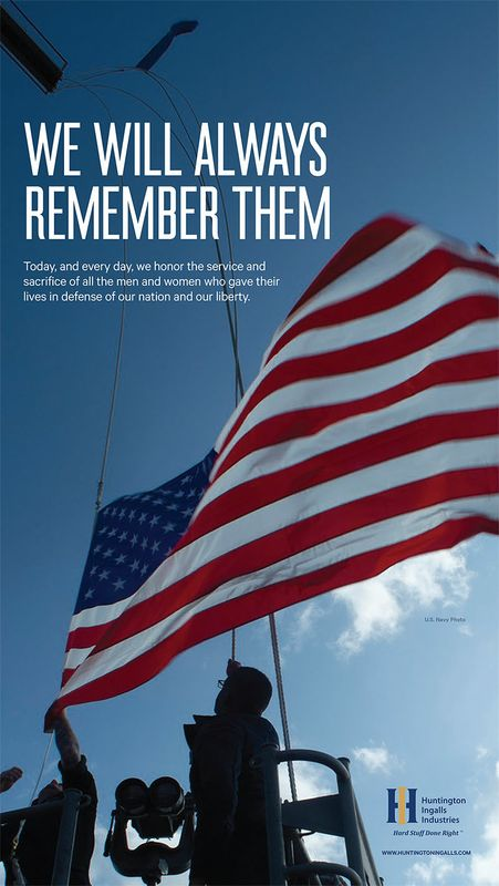 We Will Always Remember Them