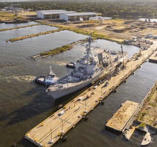 Multimedia Release — Ingalls Shipbuilding Completes East Bank Reactivation Project