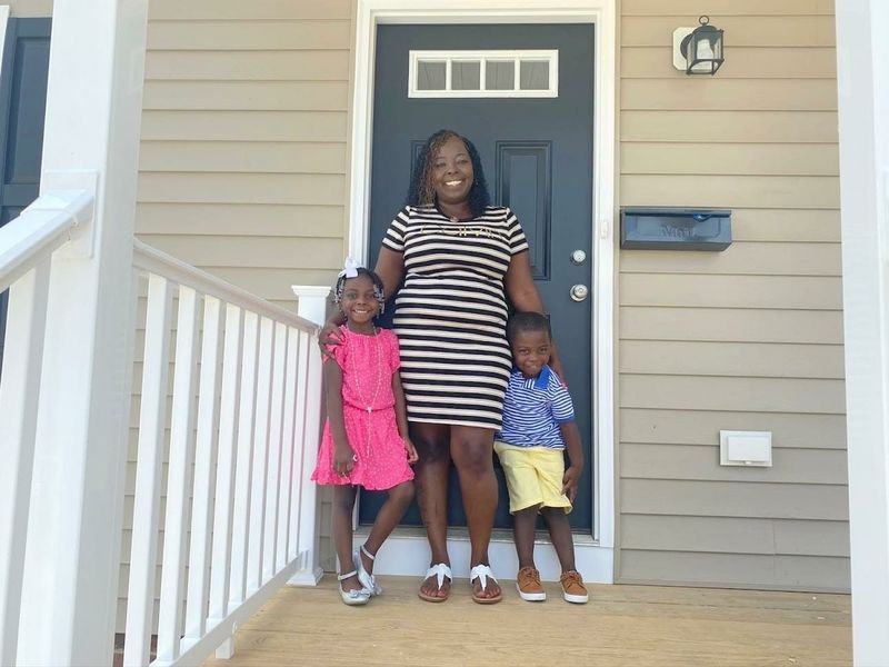 18th Habitat For Humanity Home Built by Newport News Shipbuilders