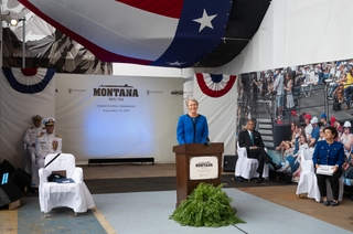 Montana Christening Sponsor Remarks