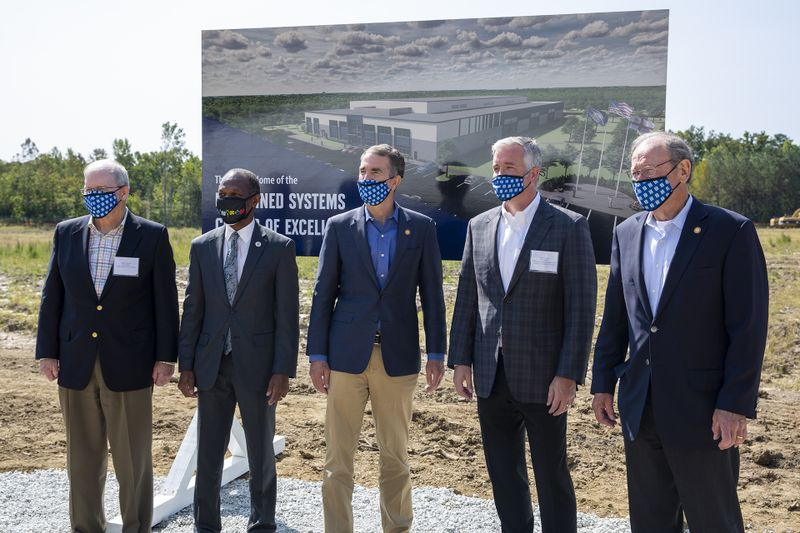 Unmanned Systems Center of Excellence Groundbreaking