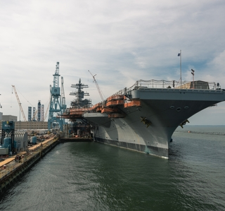 Photo Release — Huntington Ingalls Industries Restores Drinking Water, Conducts Steam Testing During USS George Washington (CVN 73) Refueling and Complex Overhaul