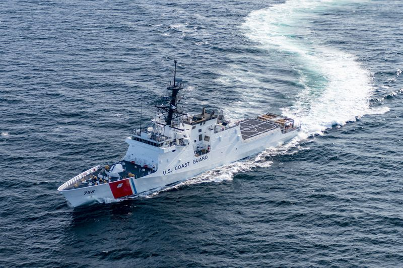 National Security Cutter Stone (WMSL 758) Acceptance Trials