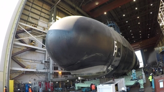 Montana (SSN 794) Is Rolled Out