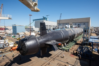 Montana (SSN 794) Rollout