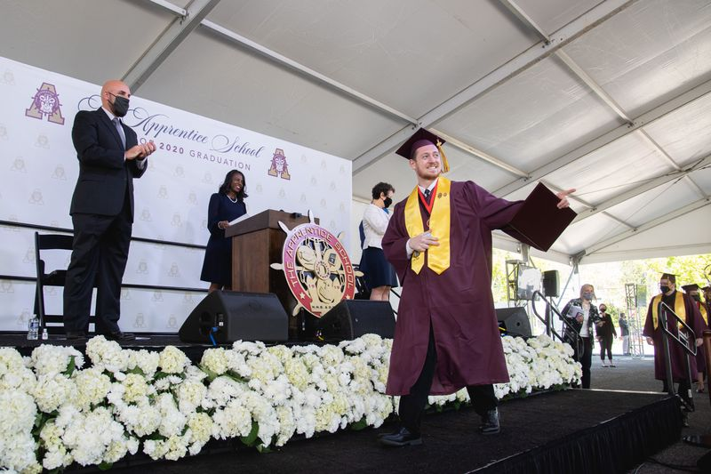 Apprentice School Graduation